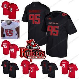 7b4fd6722 Rutgers Scarlet Knights  3 Jalen Chatman 95 Justin Davidovicz 6 Mohamed  Sanu 11 Logan Ryan 21 Jason McCourty College Football Jerseys S-4XL