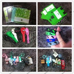 Festliche papiertüten online-Hot Creeper Party Supplies Set (20 Papiertüte + 70 Ballon + 20 Spielzeug + 20 Grußkarten + 20 Armband) Festlicher Geburtstag