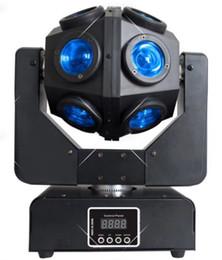 Canada RGBW 12X10W lumière de tête mobile à faisceau infini DMX512 Rotation illimitée Lumières de scène de faisceau lampes de fête de mariage KTV disco dj LLFA cheap moving head lamp Offre