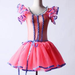 2019 erwachsene lange tutu röcke Frauen Erwachsene Ballett Tutu Rock Trikot Gymnastik Body lange Tutu Ballett Kleid Ballerina Dancewear Tanz Kostüm für Kinder rabatt erwachsene lange tutu röcke