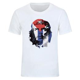 T-shirt da uomo strappato comunista Che Guevara Cuba Moda Casual O-Collo T- shirt da uomo Estate fresco manica corta Abbigliamento s-xxxl cb1a9a6ab17b