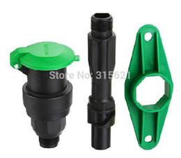 Wholesale Rapid Kit - for water valve yellow 1 inch rapid water intake valve kit set thrombolytic watering gardening supplies