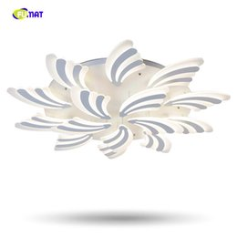 Wholesale fish mounts - Super thin fish tail shape Modern Acrylic LED ceiling light for ceiling iron mounted bedroom dinning room indoor ceiling lighting