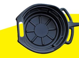 Wholesale clean disks - 15L PE plastic oil basin tool disk parts, cleaning disc plate washing waste oil pan, , Car Washer