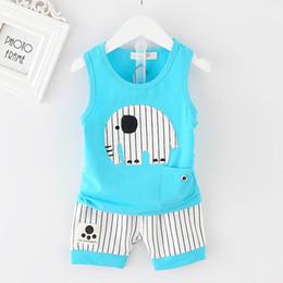 Cute korean baby boy clothes en Ligne-Bébé Garçon D été Vêtements 2018  Coréenne 1c2af33b306