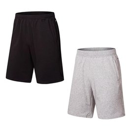 Wholesale Wholesale Mens Casual Wear - Mens crossfit Fitness Shorts 2018 cotton casual men's wear black shorts MMA crossfit