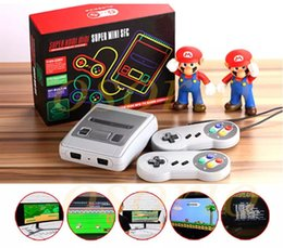 Wholesale Nes Snes - Newest HDMI HD Super Mini Classic SFC TV Video Game Console For Mini NES SNES 621