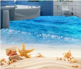 Revêtements muraux adhésifs Esthétique plage bord de mer salon PVC Étanche auto-adhésif Fond d'écran ? partir de fabricateur