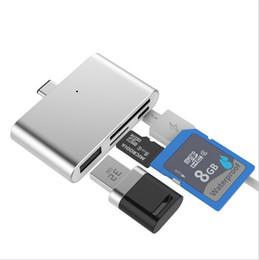 4 Couleur USB 3.0 3.1 Type C Lecteur de Carte Haute Qualité Mini Adaptateur Pour Xiaomi Type-C Téléphones Android TF Carte Mémoire ? partir de fabricateur