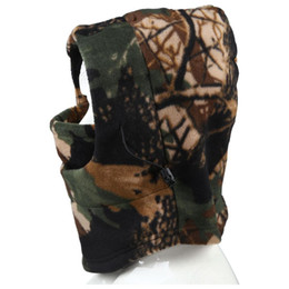 daf1bfc6e6b711 Discount red hunting hat - Winter outdoor windproof fleece bionic Camo Hunting  Hat caps (Brown