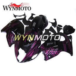 99 hayabusa injection mold Promo Codes - For Suzuki GSXR1300 Hayabusa Generation ONE 1997 98 99 00 01 02 03 04 05 06 2007 Injection Fairings High Quality Black Purple Light Hulls