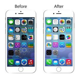 Caméra frontale iphone blanc en Ligne-Pour iPhone 6s Digitizer Screen Replacement Blanc 4.7 '' Assemblée Full LCD Display avec bouton Home, caméra frontale