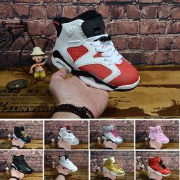 super popular faf79 70e30 Nike air Jordan 6 12 13 retro Großhandelsneuen Rabatt Kinder 6 Baby Basketball  Schuhe unc gold schwarz rot Kind 6s Jungen Turnschuhe Kinder Sport niedrig  ...