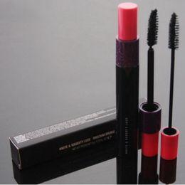 Rosso trucco nero dell'occhio online-Red Hat Brand Eyes Cosmetics Makeup Marchi HauteNaughty Black Lash Volume Mascara Double Effet 9g Spedizione gratuita