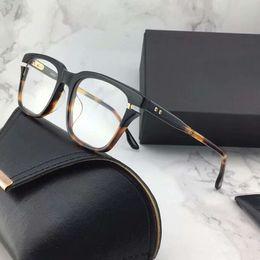 óculos de armação preta quadrada Desconto Quadrado Avec Preto Óculos De Ouro óculos de Armação Antiguidade Quadro Óptico Preto Eyewear Sunglasses New wth Box