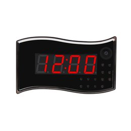 Wholesale Spy Clock Motion Activated - IR Vision Wifi Mini Spy Camera Alarm Clock Nanny Cam with Motion Activated Video Recording for Security & Surveillance Support APP Remote