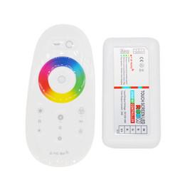 DC12V-24V 24A RGBW Controlador de Tela de Toque 2.4G RF Controlador Remoto Sem Fio LEVOU Dimmer para 5050 RGBW Tira CONDUZIDA cheap led touch dimmer remote controller de Fornecedores de levou controle remoto dimmer controlador