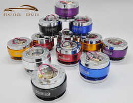 Wholesale Wheel Adapters - HB Momo Universal Aluminum Steering Wheel Quick Release Hub Adapter off Boss Kit Spco