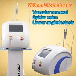 Wholesale Home Medical - professional 980nm diode laser spider vein removal machine permanent vascular therapy spider veins laser 2017 Medical grade salon home use