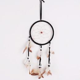 Canada Inde Style Dream Catcher À La Main Plume Dreamcatcher Nouveauté Arts Suspendus Ornement Chambre Mur Décor Faveur Cadeaux 4 2wt ii supplier india ornament Offre