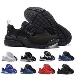 Zapatillas para caminar online-Venta al por mayor Nike Air PRESTO BR QS Breathe Negro Blanco Mens Basketball Shoes Sneakers Mujeres, Zapatos corrientes para hombres calzado deportivo, zapatos de diseñador que caminan