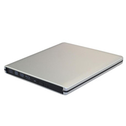 Wholesale Usb Dvd Slim - External 9.5mm USB2.0 1.0 1.1 SATA Drive Case USB 3.0 Super Slim SATA 9.5 Blu-ray DVD CD Drive USB External Case Enclosure