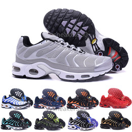 huge discount 686b2 24dd8 nike Tn plus air max airmax 2018 Nouveau Design Top Qualité TN Hommes  TrAinErs shOes Respirant Mesh Chaussures Homme Tn REqUin Noir Casual  RuNnING ShOes ...