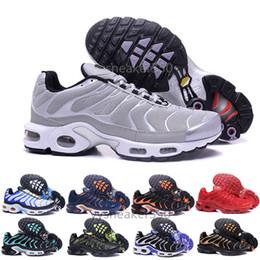 huge discount 29266 db6e8 nike Tn plus air max airmax 2018 Nouveau Design Top Qualité TN Hommes  TrAinErs shOes Respirant Mesh Chaussures Homme Tn REqUin Noir Casual  RuNnING ShOes ...