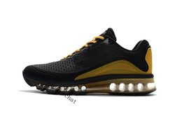 Wholesale shoes mans air 87 - Fashion 2017.8 Men Top Quality Airs 87 90 Running Shoes for Men Gold Silver Sneakers Airs Thea Sports Shoes Eur 40-47