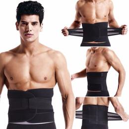 Wholesale Waist Burning Belt - Men Abdomen Tummy Belly Stomach Cincher Girdle Body Waist Shaper Slimming Belt Mens Lingerie Burning Shaper Top Body Slimming