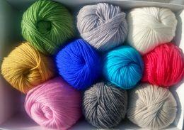 """lace stoff geschenk taschen Rabatt Handstrickgarn 100% australische Wolle """"PURE NEW WOOL"""" Wollmark 500g (EMPFOHLEN)"""