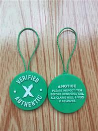 Canada Authentique Stock Authentique X Tag Vert Circulaire Tag Plastique Boucle De Boucle De Femme Homme Blanc Chaussures Circle Green X Tag Offre