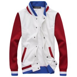 Wholesale korean jacket clothing men - 2018 Jacket Men Korean Version of the New Wave of New Clothes Jacket Students Trendy Leisure Personality Leisure Baseball Suit M-3XL