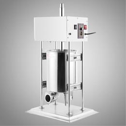 Canada Usine prix Haute quility 10L 25LBS En Acier Inoxydable Vertical machine De Remplissage Électrique Saucisse Filler Stuffer Meat Maker Offre