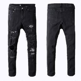 2019 mulheres calças curtas jean Moda MIRI Calças Curtas Homens Soltos Denim Homens Mulheres 2018 Nova Europa Reta Designer Jeans Homens mulheres calças curtas jean barato