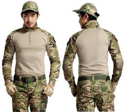 Argentina Camuflaje táctico Uniforme militar Ropa Traje Hombres Ejército de EE. UU. Multicam Caza Camisa de combate + Pantalones cargo Suministro
