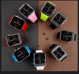 Neue android smart watch handy online-2018 neue A1 Smart Watch-Armband-Android-Uhr Smart SIM Intelligenter Handy-Schlafstatus Smart Watch Cradle Design Kostenlose Lieferung