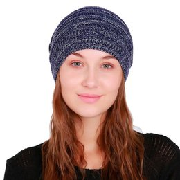 b631b120108 wool head hats Coupons - Autumn and Winter Beanies Fold Flanging Head Cap  Men and Women