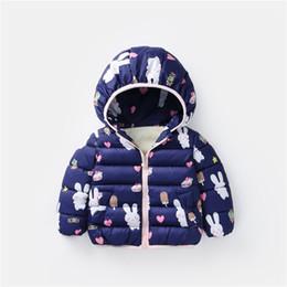 winter parkas for kids Canada - winter girls jacket baby girl warm down parka children flower snowsuit jackets kids winter outerwear for child girls