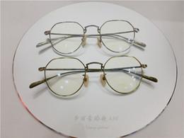 Oliver lunettes de vue titane Spectacle Frame montures de lunettes pour Hommes Femmes Myopia Marque Designer Vintage Lunettes cadre lentille ? partir de fabricateur