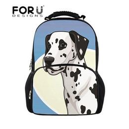 FORUDESIGNS School Backpack for Girls Dalmatian Dog Printing School Bags  Backpacks for Teen Students Book Bags Daily Rucksack 22812ec0d1398
