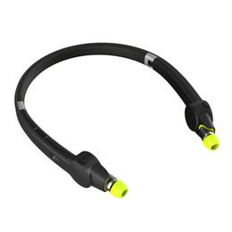2019 fones de ouvido retrácteis Suicen SX-802 Esportes fones de ouvido Bluetooth Sweatproof Retrátil Dobrável Neckband Headset Sem Fio Voz Prompt No Ouvido Fone De Ouvido desconto fones de ouvido retrácteis