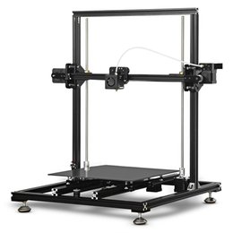 Deutschland Desktop aluminium metall 3d drucker Tronxy X3S industriellen metallrahmen Aluminium Rahmen Hohe Präzision LCD Display 3D Drucker DIY Kit cheap screen frame kit Versorgung