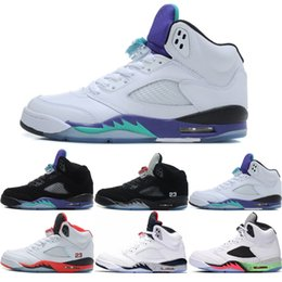 8e83b7a73097 5 Olympic Men 5s V Basketball Shoes Mandarin Duck Fire Red Oreo Camo Black  Grape White Cement Silver Mens Sport Trainer Sneakers 41-47