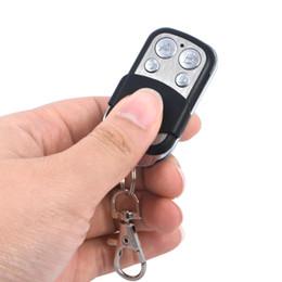 Control remoto de garaje clon online-Código de copia Remoto Control remoto inalámbrico de 4 canales Duplicador de clonación 433 mhz Aprendizaje Abrepuerta para garaje Controlador de copia