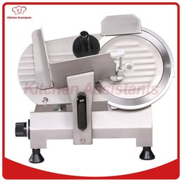 Wholesale restaurant machines - 220S 9 inch 220mm semi automatic meat slicer meat cutter machine for hotel restaurant