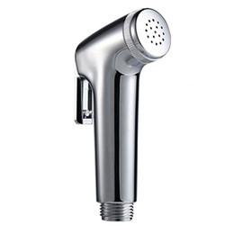 Ducha de baño online-Grifo del bidé del ABS Ducha de mano del aerosol Cabezal de ducha Douche Shattaf que limpia
