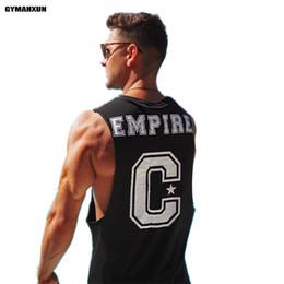 2d86f7c73 fitnesshemden Rabatt GYMAHXUN neue Männer Gyms Tank Top Druck ärmellose  Shirts männliche Mode Fitness Bodybuilding Marke