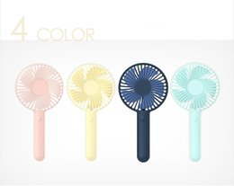Wholesale design mini fan - 2018 Summer New Design Dream air cooling mini usb handheld portable rechargeable fan with 2500mAh Battery