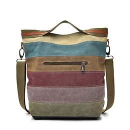 Wholesale Casual Teenager - Hot Casual Women Canvas Shoulder Bag Simplicity Female Handbag Soft Medium Size Messenger Bag for Teenagers